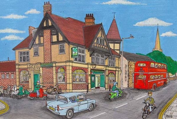 JG Miller - Scoot to the Pub - The Green Tree, Bishop Auckland